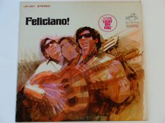 """Feliciano - """"Light My Fire"""" """"Don't Let the Sun Catch You Crying"""" - Latin Folk Rock - RCA Victor 1968 Re-Issue - Vintage Vinyl Record Album"""