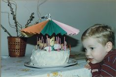 3rd in Birthday Cake Creations series: Turning three is a merry-go-round ride.