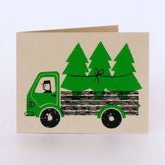 Tree Truck by Lisa Jones