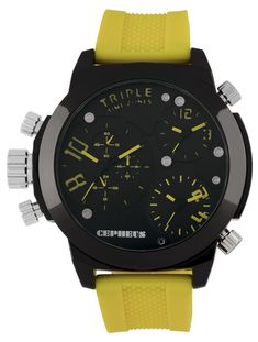 #CEPHEUS #Men's #CP902-620C #Analog-#Quartz #Watch | #Bydepot Black Rubber, Casio Watch, Quartz Watch, Chronograph, Watches, Stuff To Buy, Jewellery, Accessories, Shoes