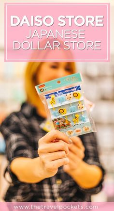 Best things to buy at a Daiso Store - Japanese Dollar Store #Japan #Daiso #Asia #JapanTravel
