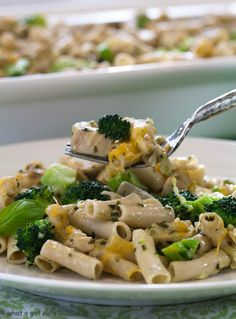 recipe-  Creamy Chicken and Broccoli Pesto Penne