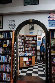 inside City Lights Bookshop