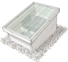 Solar Beeswax Melter Instructions [Credit: Illustration by Felix Freudzon, Freudzon Design]