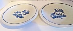 Pfaltzgraff Yorktowne (USA)  Large Dinner Plates Set of 2 10 1/4 inches #Pfaltzgraff