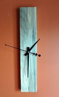 Unique wall clock. Simple yet modern! 18X3.5
