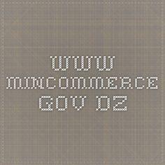 www.mincommerce.gov.dz