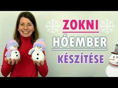 Zokni hóember készítése | Karácsonyi ötlet | Manó kuckó - YouTube Christmas Time, Christmas Crafts, Christmas Decorations, Christmas Ornaments, Holiday Decor, Advent, Crafts For Kids, Diy Projects, Youtube