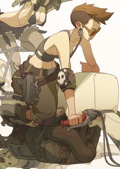 Desert Pirates by Sergi Brosa, via Behance