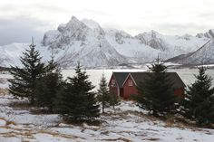 Rustic ice fortress of my daydreams...,morfjorden - lofoten - norway - 10 by Florence Canal, via Flickr