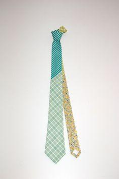 Green Tie by Borku