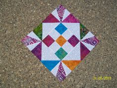 Long 9 Patch Block by Denise Mitchell  Tutorials for 8 different blocks by Eleanor Burns