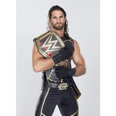 Seth Rollins WWE Champion The Shield ❤ liked on Polyvore
