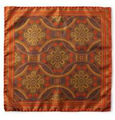 J.CrewHarris Printed Silk-Twill Pocket Square