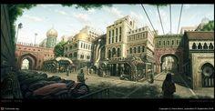 Concept Art : Street 3 by Pene Menn | 2D | CGSociety