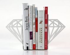 Diamond bookends by Design Atelier Article