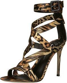 Giuseppe Zanotti Heeled Sandal, Leopard, 11 B Us - Multicolor Giuseppe Zanotti Heels, Gladiator Heels, Calvin Klein Women, Black Suede, Women Accessories, Shoes Sandals, Ebay, Clothing, Store