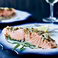 Top Chef Masters winner Floyd Cardoz reveals his secrets to slow-roasting salmon with Provencal flavors like garlic, shallots, citrus, thyme and fennel.