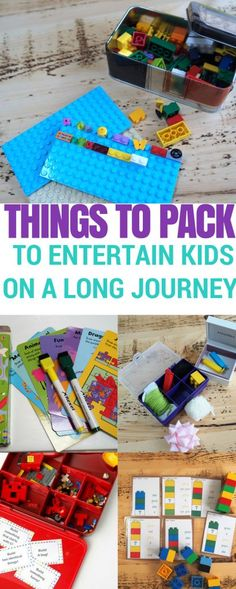 Screen Free Ways to entertain Kids on a Long Journey Screen Free Ways to Entertain children on a Long Journey. Fun road trip activities to keep the kids happy when travelling. Road Trip Hacks for travelling with kids