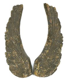 Look what I found on #zulily! Magnesium Wing Wall Art - Set of Two #zulilyfinds