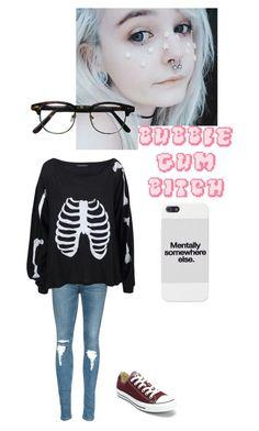 My Outfits ~ Kandi Emo Style, Skater Outfits, Kandi, Emo Fashion, Wildfox, My Outfit, Character Inspiration, Grunge, Converse