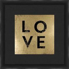 Love Framed Giclee Print