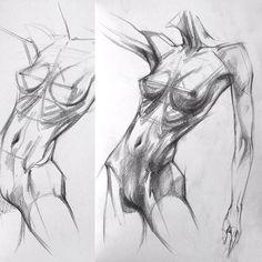 #academia #artwork #art #sketchbook #sketch #desenho #dessin #desen #draw #drawing #çizim #eskiz #paint #painting #figure #figures #figuredrawing #female #sanat #anatomy #artistic