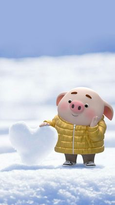 Pig Wallpaper, Disney Wallpaper, This Little Piggy, Little Pigs, Cute Piglets, Pig Drawing, Pig Illustration, Funny Pigs, Pig Art