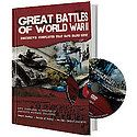 Great Battles Of WW II Book And DVD Set