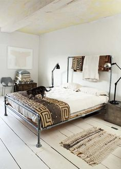nice pipe bed frame