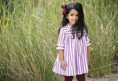 Vestido rayas | Aiana Larocca Moda Infantil