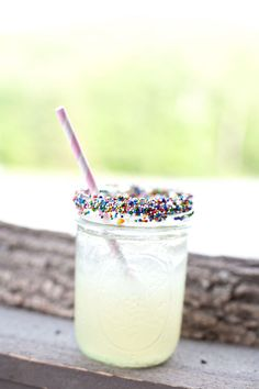 Sprinkles and lemonade
