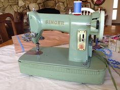 Grandmother's Sewing Machine - The Lost Apron