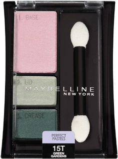 Maybelline New York Expert Wear Eyeshadow Perfect Pastels Green Gardens 15t 2 Ea ** This is an Amazon Affiliate link. Be sure to check out this awesome product.
