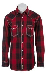 Rafter C Cowboy Collection Men's L/S Western Snap Shirt RC1511701 | Cavender's
