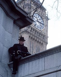 Photo of Sherlock Holmes for fans of Jeremy Brett as Sherlock Holmes. Jeremy as Sherlock Holmes