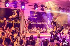 A casual summer night at Lío Ibiza!