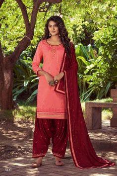 Patiala Salwar Suits, Punjabi Suits, Patiyala Dress, Maroon Color, Pink Fabric, How To Dye Fabric, Indian Wear, Indian Outfits, Fashion Pants