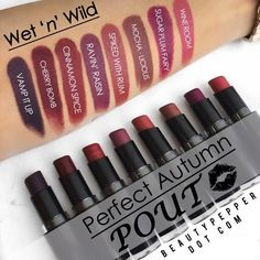 Fall is around the corner! Check out Wet n Wild's Mega Last Lip Color and these…