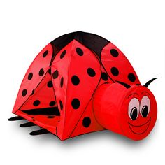 Alpika Ladybug Kids Play Tent and Ball Pit with Storage Bag (Red)**  sc 1 st  Pinterest & Alpika Kids Portable Pop Up Frog Sun Shade Shelter Canopy Tent ...