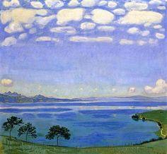 Lago de Ginebra - Ferdinand Hodler