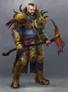 m Fighter Hvy Armor Battle Axe urban City undercity eastern border ArtStation - Bug Squisher by Tyson Roberts male DnD d&d lg Dungeons And Dragons, Fantasy Blade, Dungeons And Dragons Characters, Fantasy Characters, Character Design, Character Inspiration, Fantasy Art, Fantasy Armor, Fantasy Inspiration