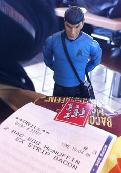 Breakfast with Spock!