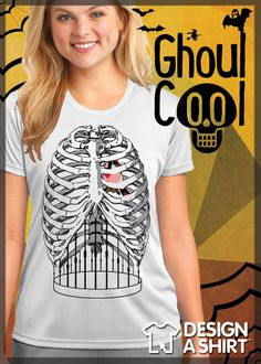 Cool custom rib cage, bird cage just in time for Halloween or wear it year round.