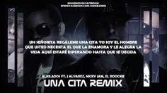 UNA CITA (REMIX) (LETRA) - ALKILADOS FT. J ALVAREZ, NICKY JAM, EL ROOCKIE - YouTube
