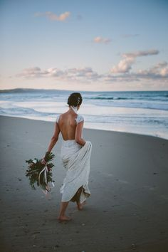 Stunning beaded backless wedding dress   Image by Bonnie Jenkins