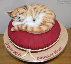 It's a Cat's Life ....Cake - Cake by Mother and Me Creative Cakes