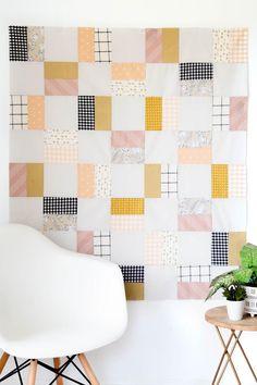 Beginner Quilt Pattern PDF Digital Download  Baby Girl Quilt | Etsy