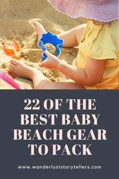 Heading to the beach with your baby?  Click here to find what top tips we have to make your day a breeze!  | #baby #beach #mommy | Best Baby Beach Gear | Top Baby Beach Hacks | Baby Beach Tips | Baby Beach Essentials