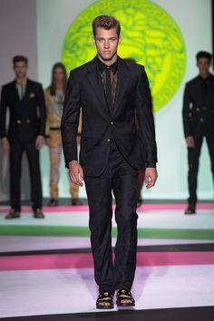 Versace Men's Collection Spring Summer 2014 #VersaceLive #Versacemenswear #Versace
